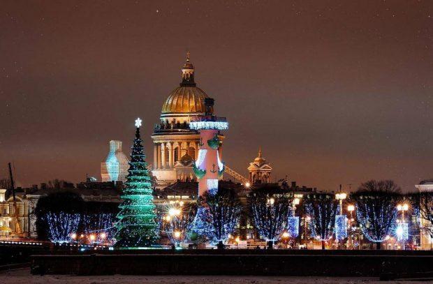 Новый год в Питере