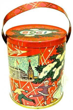 Советские новогодние конфеты