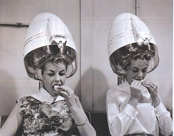 Ажиотаж в парикмахерской перед Новым Годом