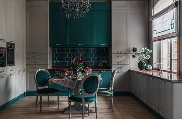самые красивые кухни 2018