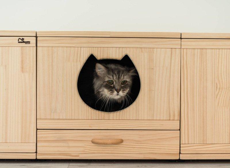 Домик для кошек в интерьере — современные решения