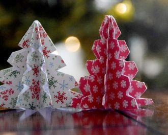 Оригами к Новому году своими руками