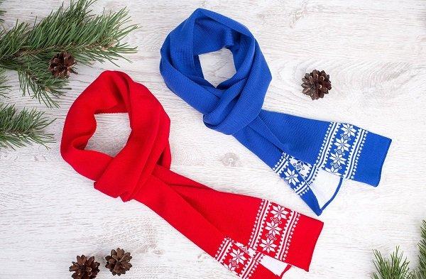 Новогодние шарфы