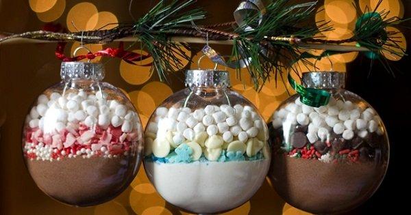 Шарики со сладостями
