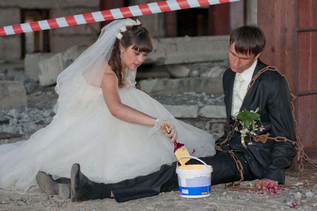 фото свадьба по русски смешные фото прицепы сочетают