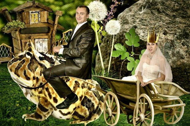 Обычная русская свадьба