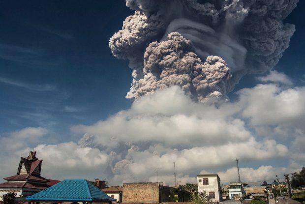 извержения вулканов 2018