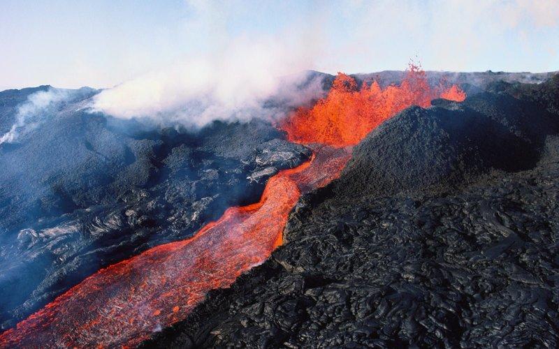 Самые впечатляющие извержения вулканов в 2018 году