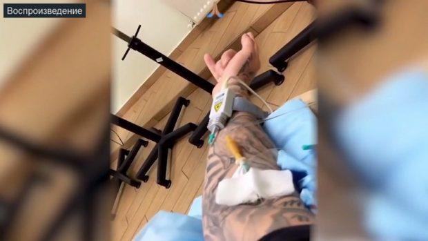 крид в больнице