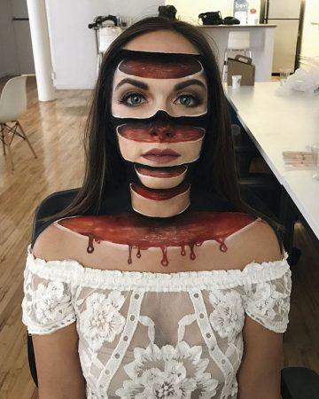 Грим для фильма ужасов