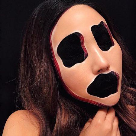 Лицо-маска
