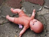 младенец на улице