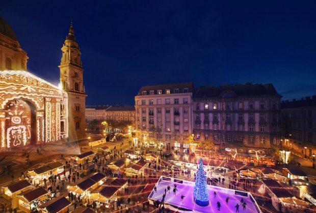 Ёлка в Будапеште