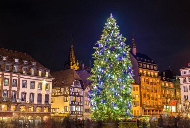 Ёлка в Страсбурге