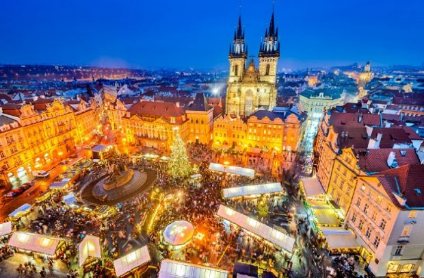 Ёлка в Праге