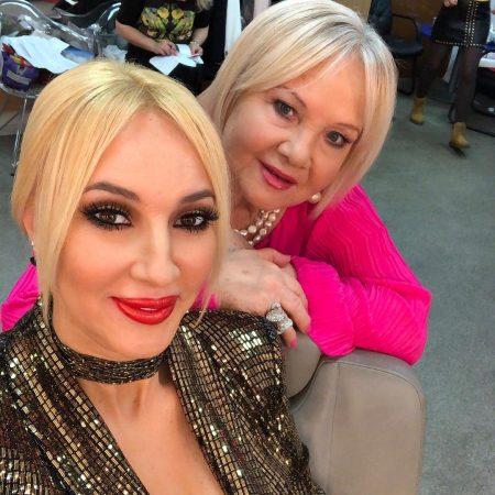 Кудрявцева и мама