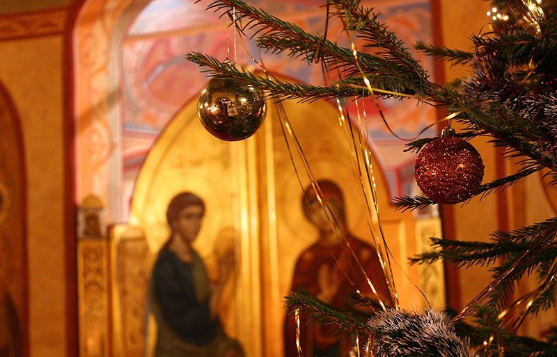 Рождество в церкви