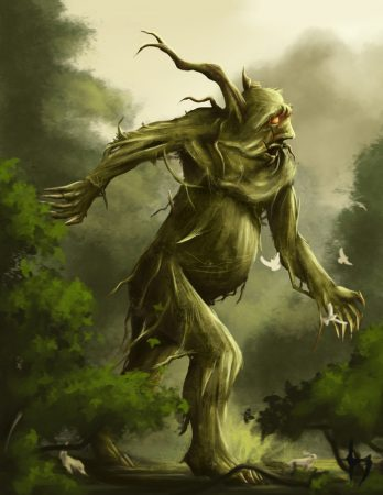 Лесной тролль