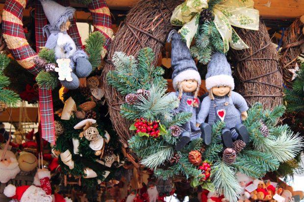 Скандинавские товары на рождественской благотворительной ярмарке