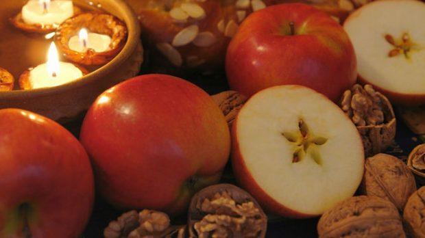 «Звезда» на яблоке