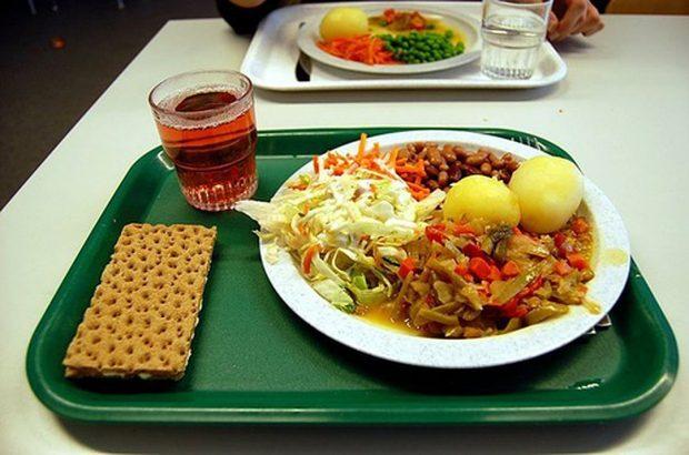 Школьная еда