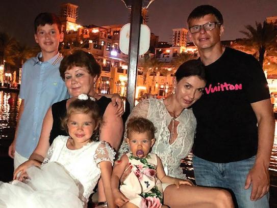аршавин и семья