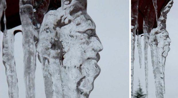 Зима — лучший скульптор