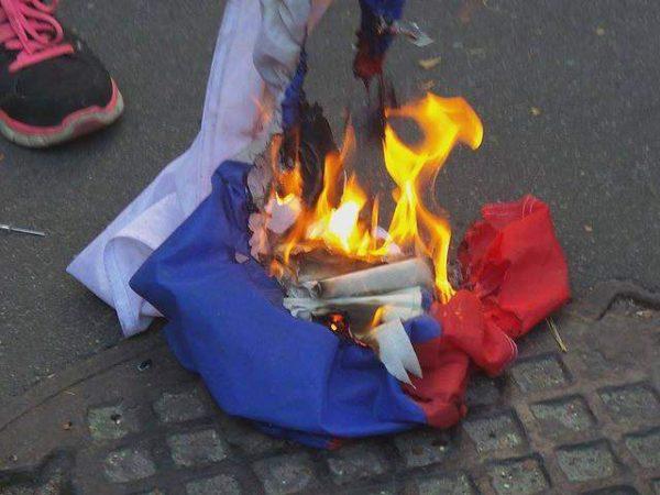сожжение флага