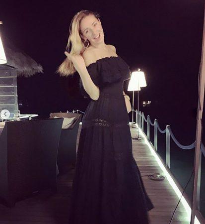 татьяна навка в прозрачном платье