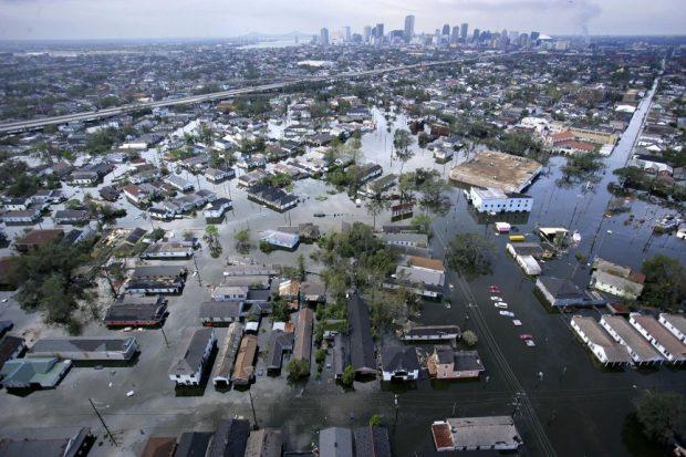 Ураган в Миссисипи и Луизиане