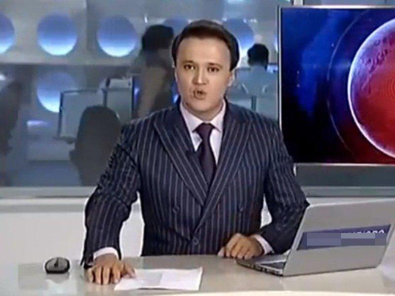 Речь казахского телеведущего