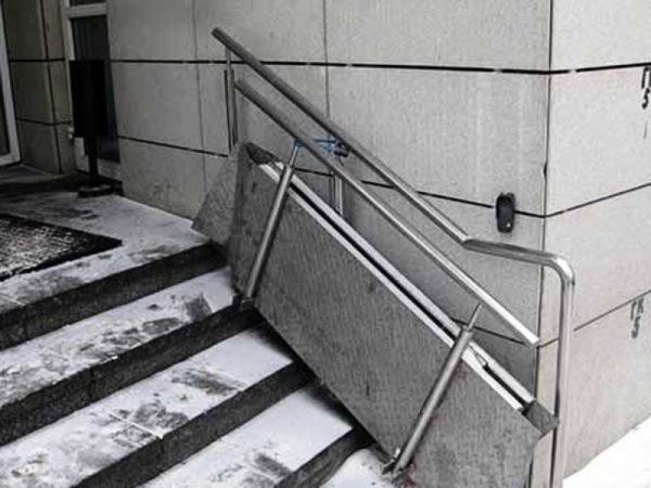 пандус для инвалида