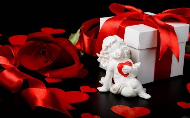 Традиционный подарок на День Всех Влюблённых