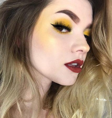 Жёлтые румяна