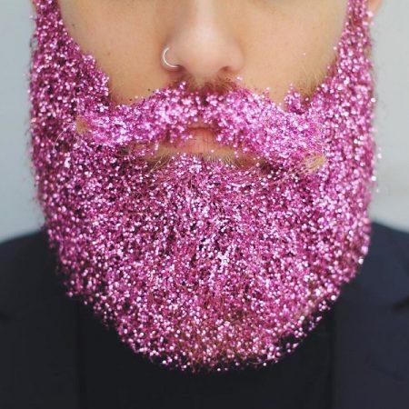 Блёстки в бороде