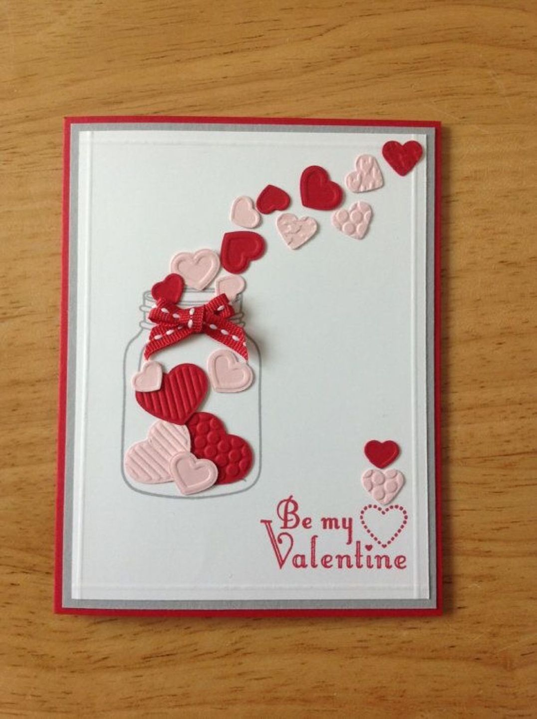 cute hand made valentines day - 726×972