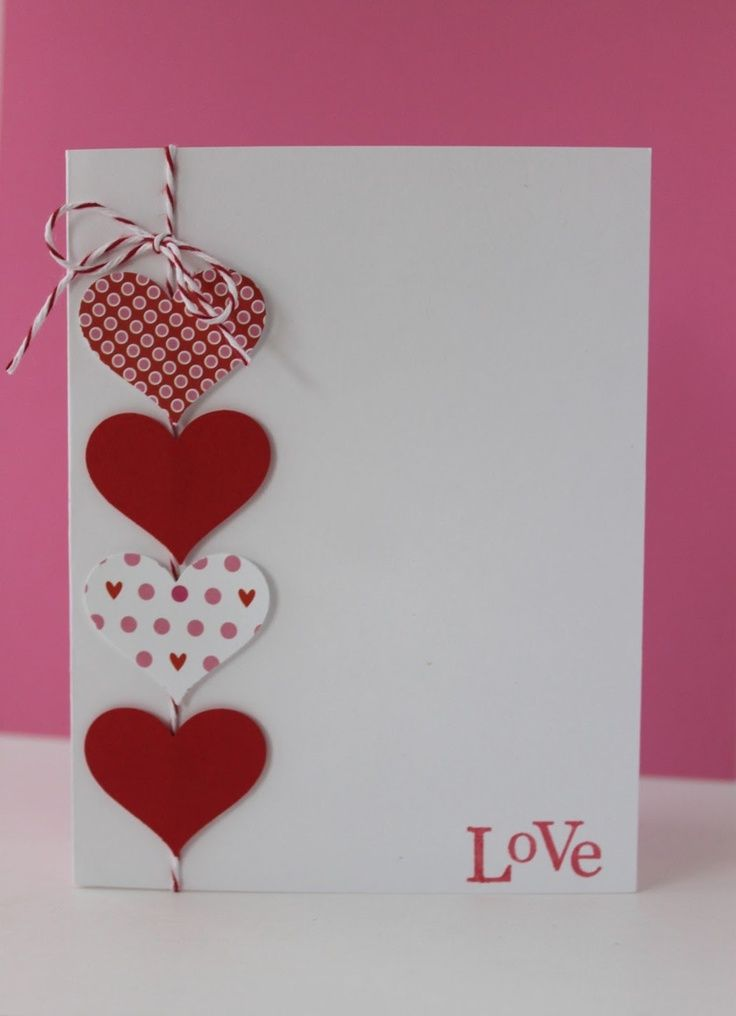 нарисовать нестандартные открытки с днем святого валентина жизни всякое может
