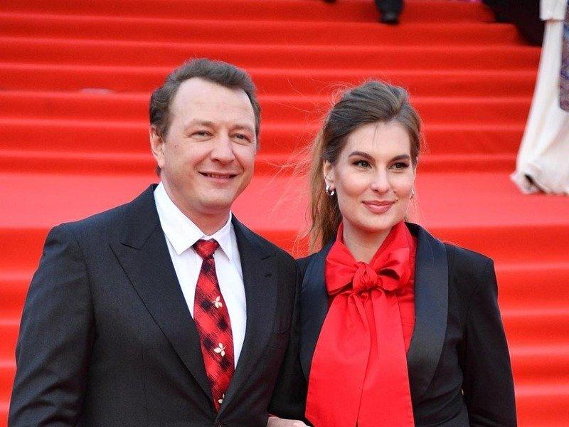 башаров с женой