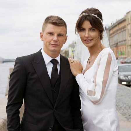 Аршавин с женой