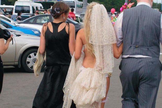 Платье из тюля