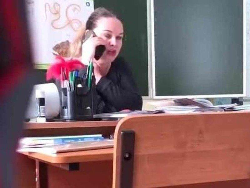 Матерившаяся учительница