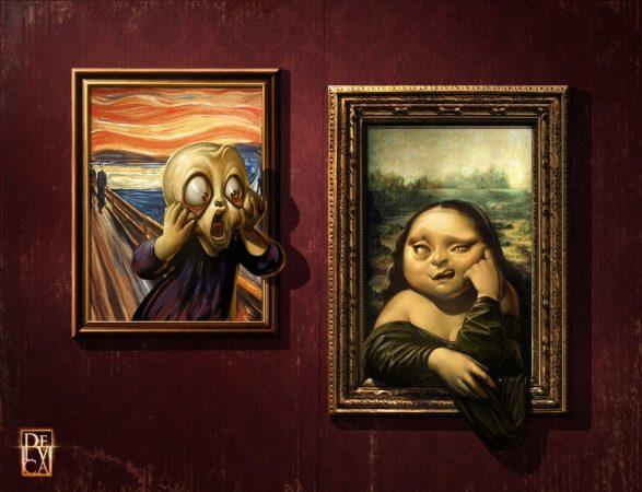 Красивые современные картины