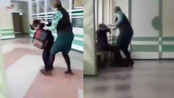 учительница избила