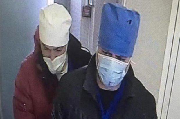 ограбление больницы