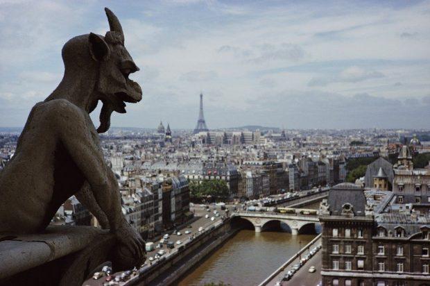 собор парижской богоматери гаргулья