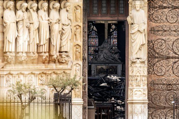 собор парижской богоматери после пожара