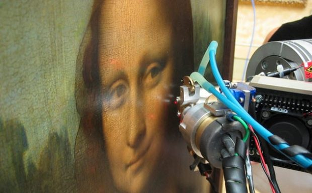 Мона Лиза под прицелом сканера