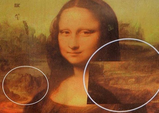 Портрет с увеличенными фрагментами заднего фона