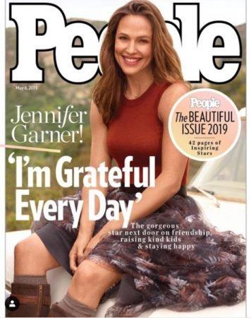 Дженнифер Гарнер на обложке журнала