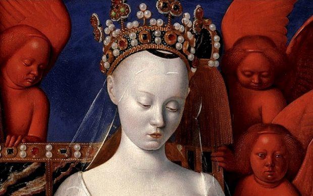 Агнес Сорель в образе Мадонны